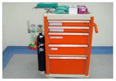 看大圖:完善的醫療設備-急救車(另開新視窗)