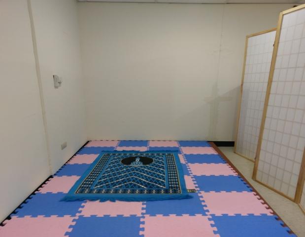 看大圖:穆斯林宗教室(另開新視窗)