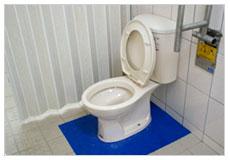 看大圖:廁所和地板顏色對比(另開新視窗)